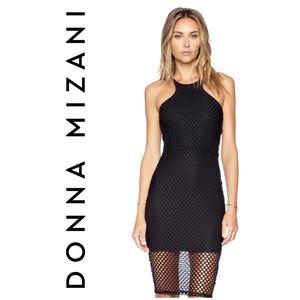 🖤Donna Mizani Racer Front Diamond Dress